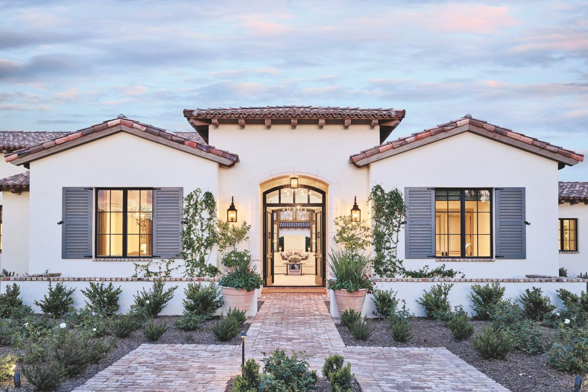 Dream House French Mediterranean Architecture Paradise Valley
