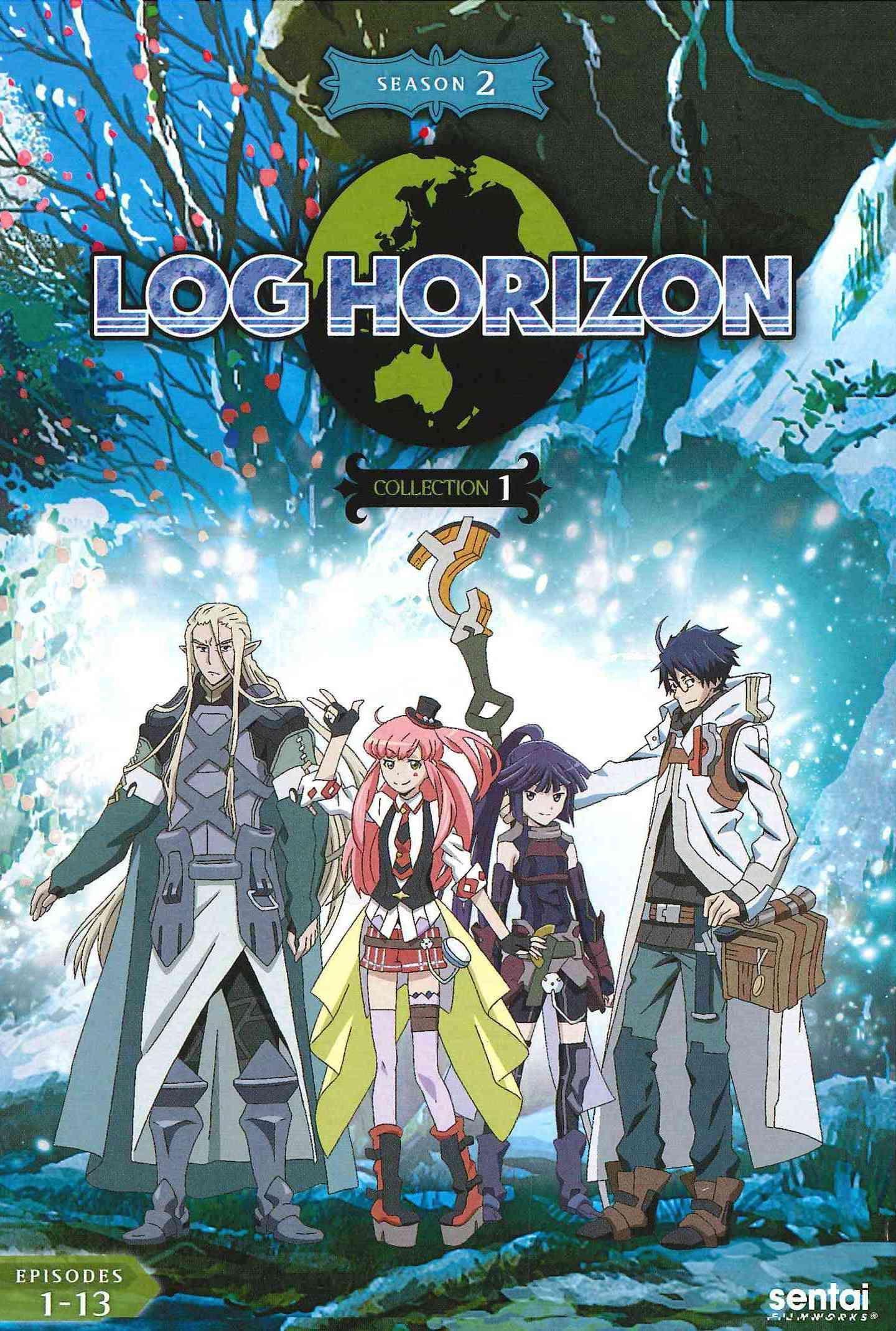 Log Horizon 2 Collection 1 Log horizon, Log horizon