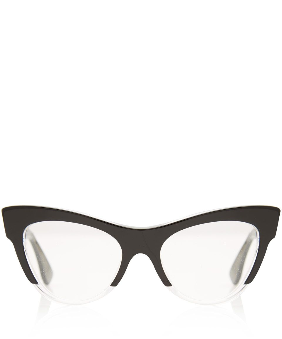 Miu Miu Black Acetate Cat Eye Glasses | Eyewear by Miu Miu | Liberty ...