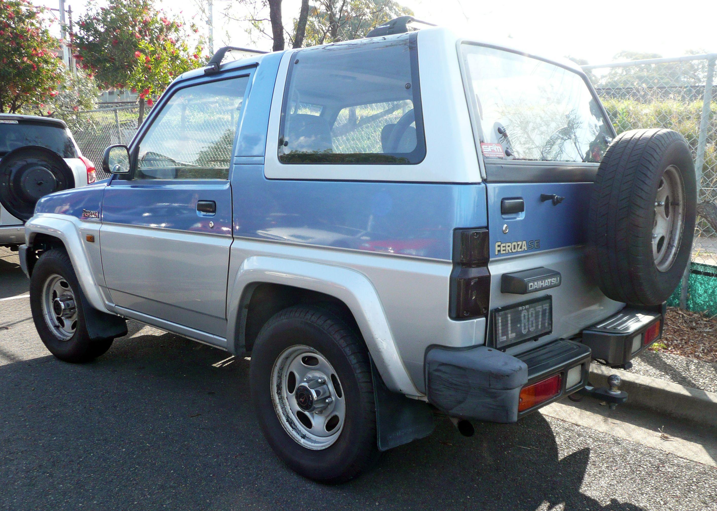 dijual daihatsu feroza 1995 dijual daihatsu feroza 1995