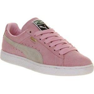 compilar vitalidad pandilla  PUMA Suede classic trainers | Puma suede, Pink sneakers, Suede
