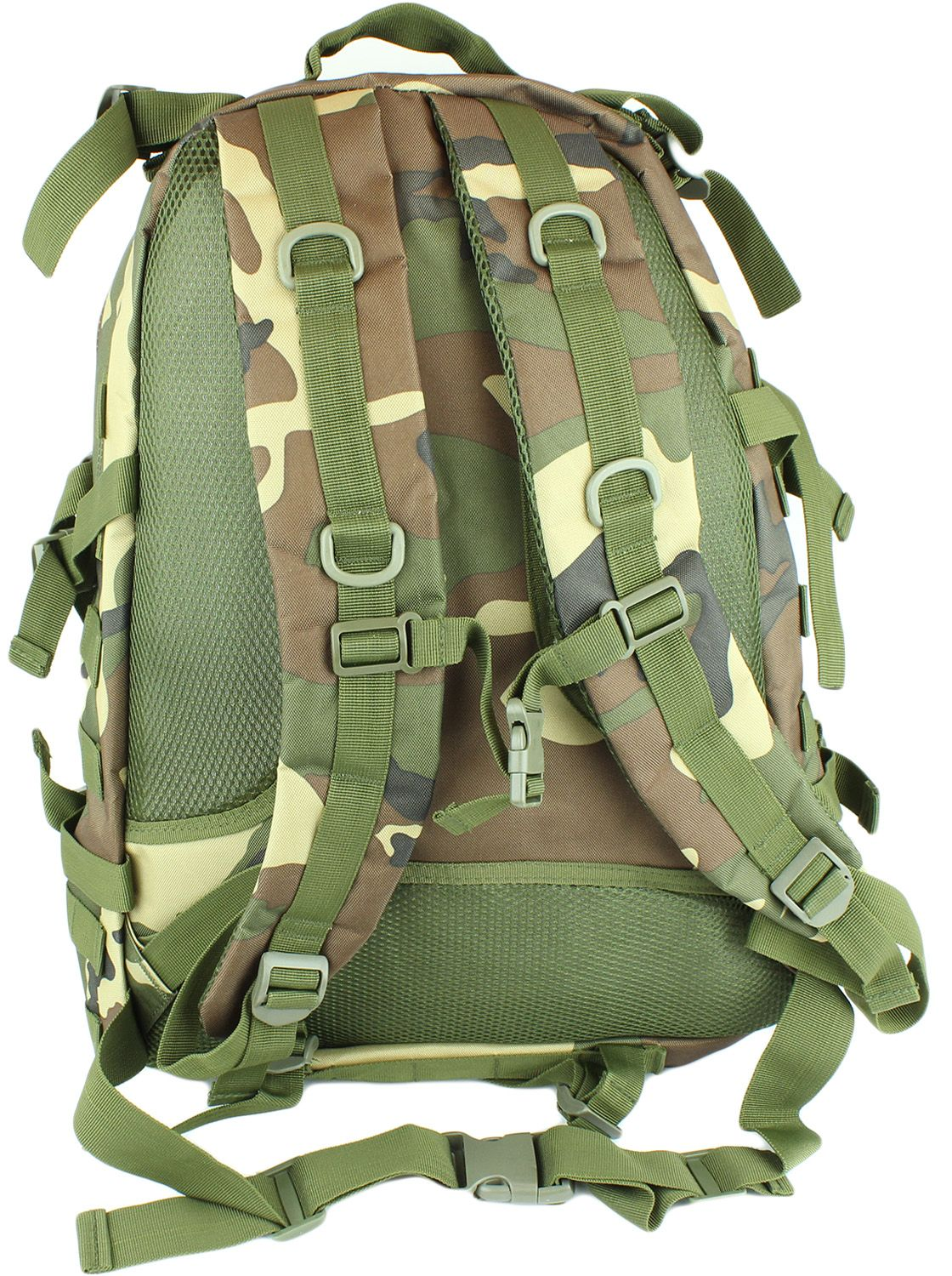 40 Liter Capacity Camo Backpack Camouflage Combat Go Travel Bag
