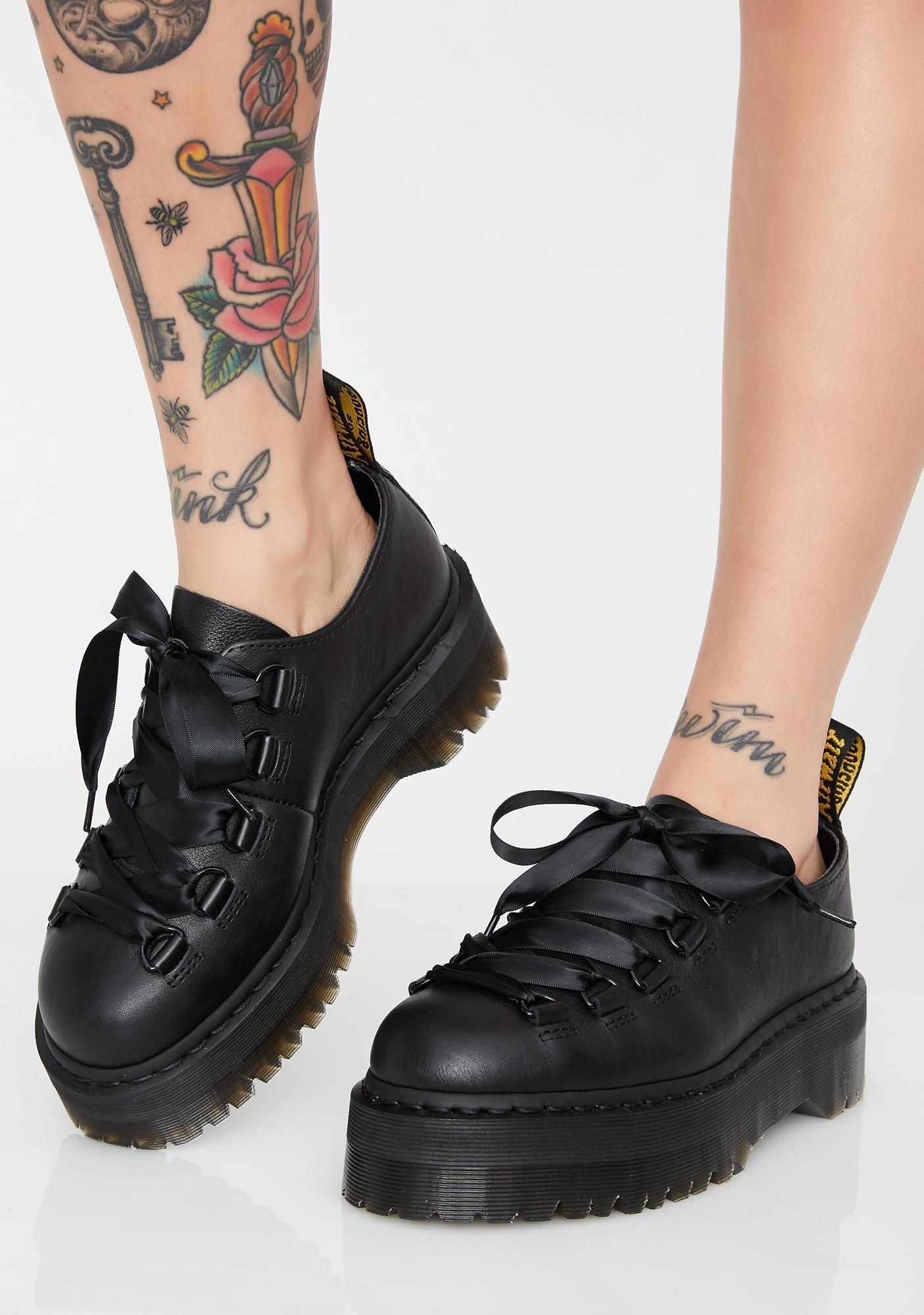 platform creepers Demonia shoes womens platforms black leather platform sneakers goth rock shoes womens size eu 37 us 6 uk 4 gothic wear