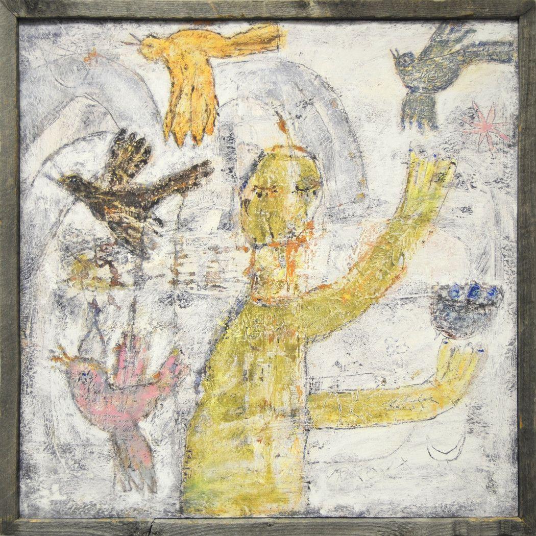 Man Juggling Bird Art Print | Bird, Printing and Prints