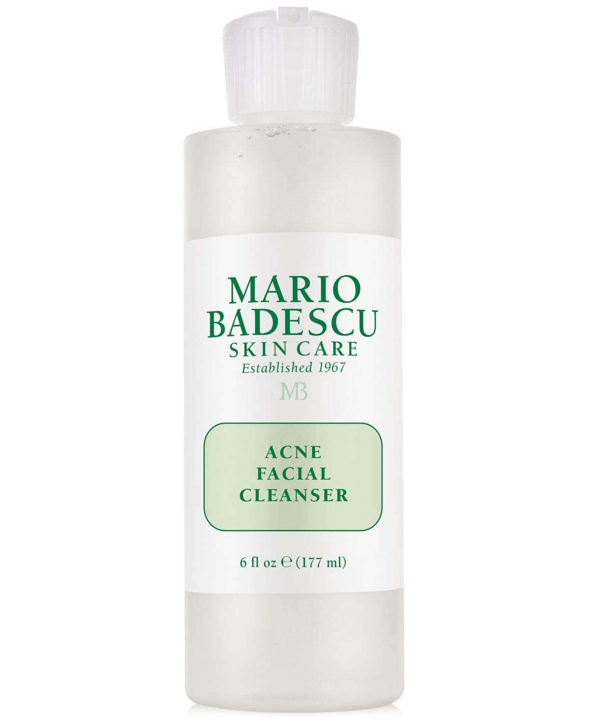 Mario Badescu Acne Facial Cleanser 6 Oz Reviews Skin Care Beauty Macy S In 2020 Skin Cleanser Products Facial Cleanser Mario Badescu Acne