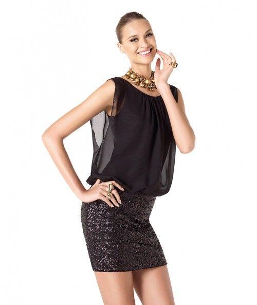 Modelos de vestidos de fiesta cortos modernos