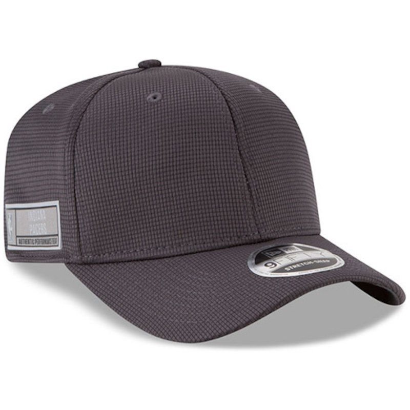 Indiana Pacers New Era Authentics Training 9FIFTY Adjustable Snapback Hat -  Graphite ce760725f4ce