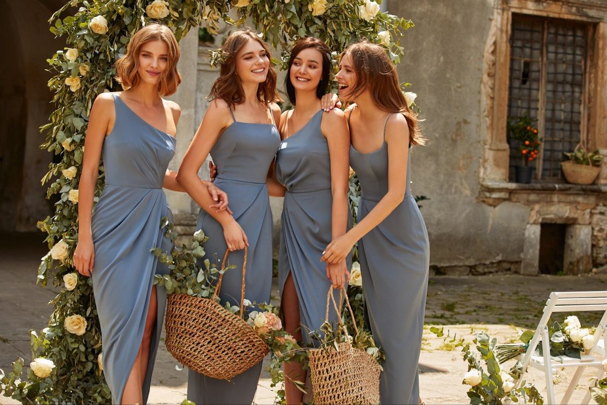 Summer wedding dresses ideas for guests for bridesmaids