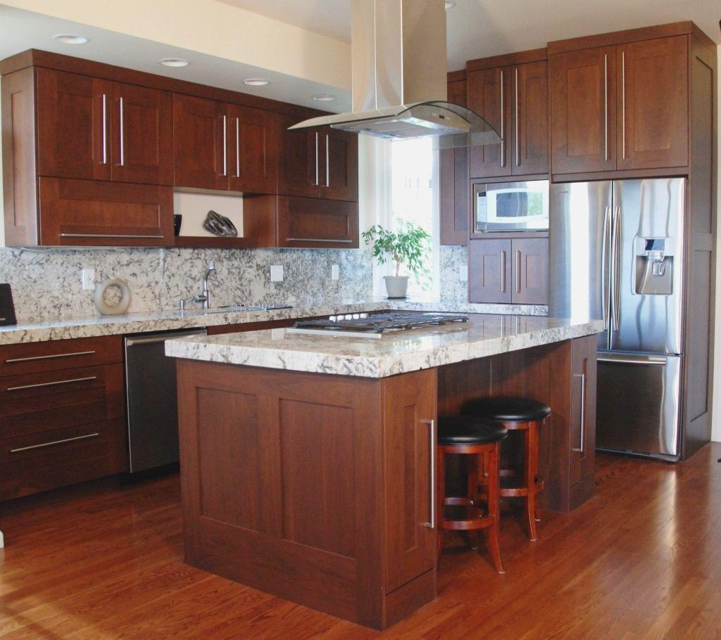 Modern Mahogany Kitchen Cabinets Modern Home Design Shaker