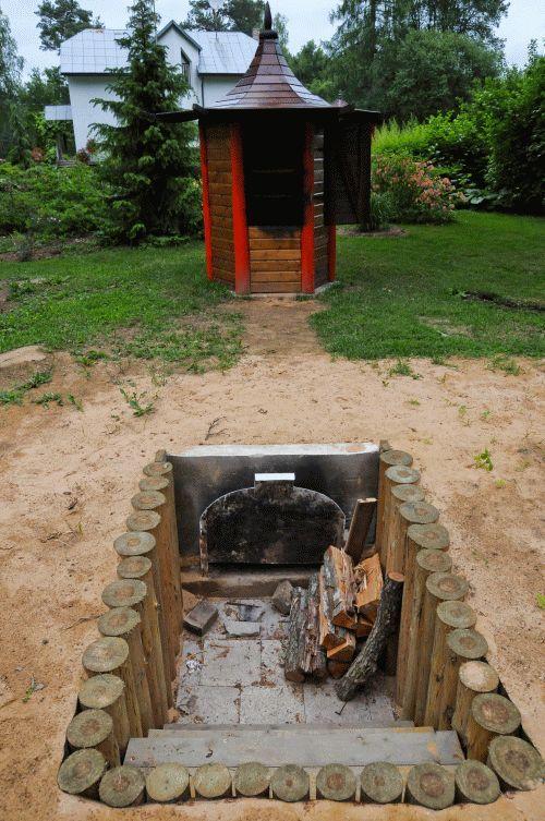 Smokehouse in 2019 | Smoke house diy, Outdoor barbeque ...