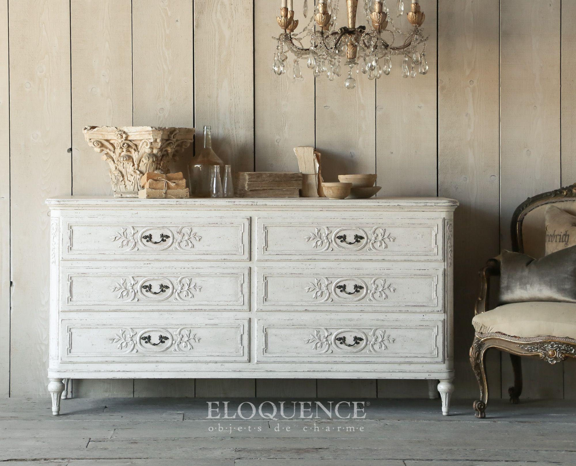 Eloquence Inc White Dresser Furniture Weathered White [ 1619 x 2000 Pixel ]