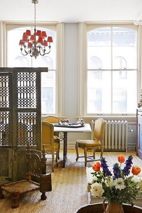interior design style indie apartment    style-new-york