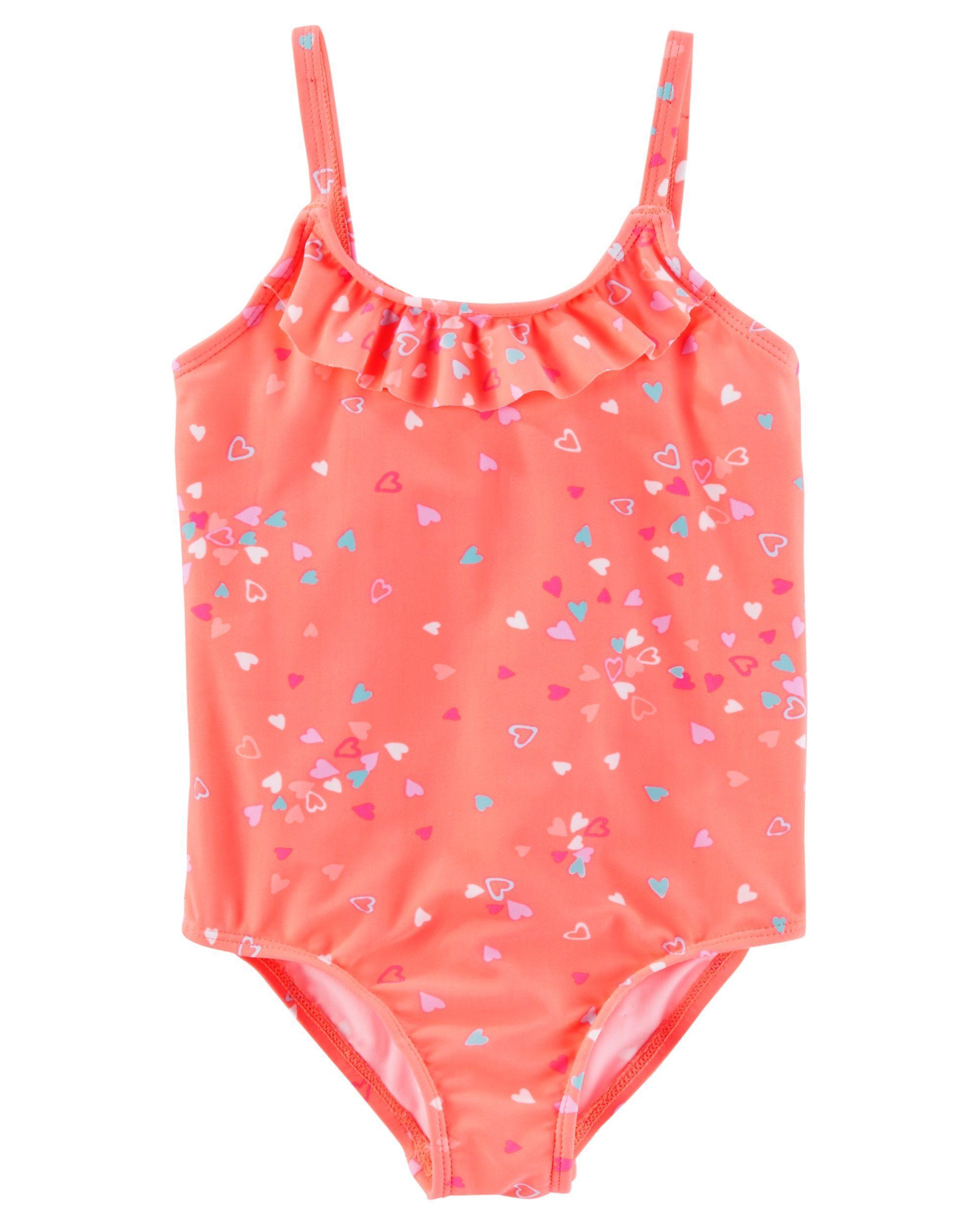 a01bf65d4e2df OshKosh B gosh Ruffle Heart Swimsuit