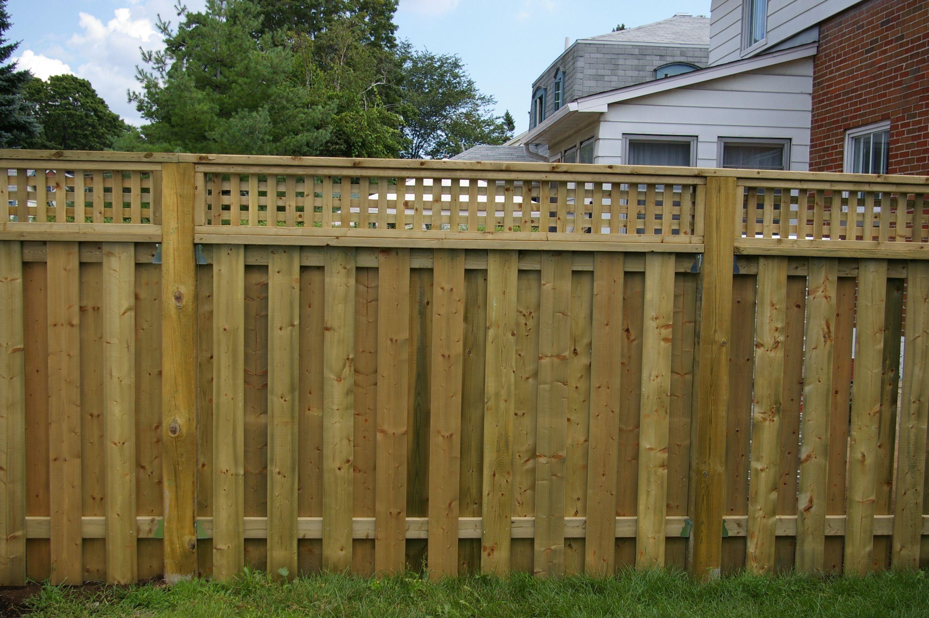 Backyard Fence Types