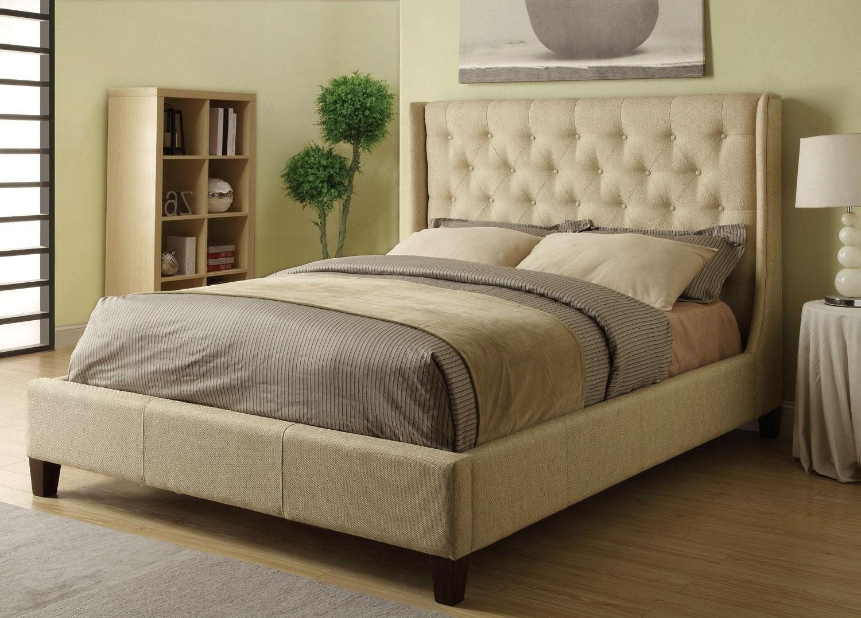 Amazon.com: Coaster Furniture 300332KE Upholstered East King Bed In ...