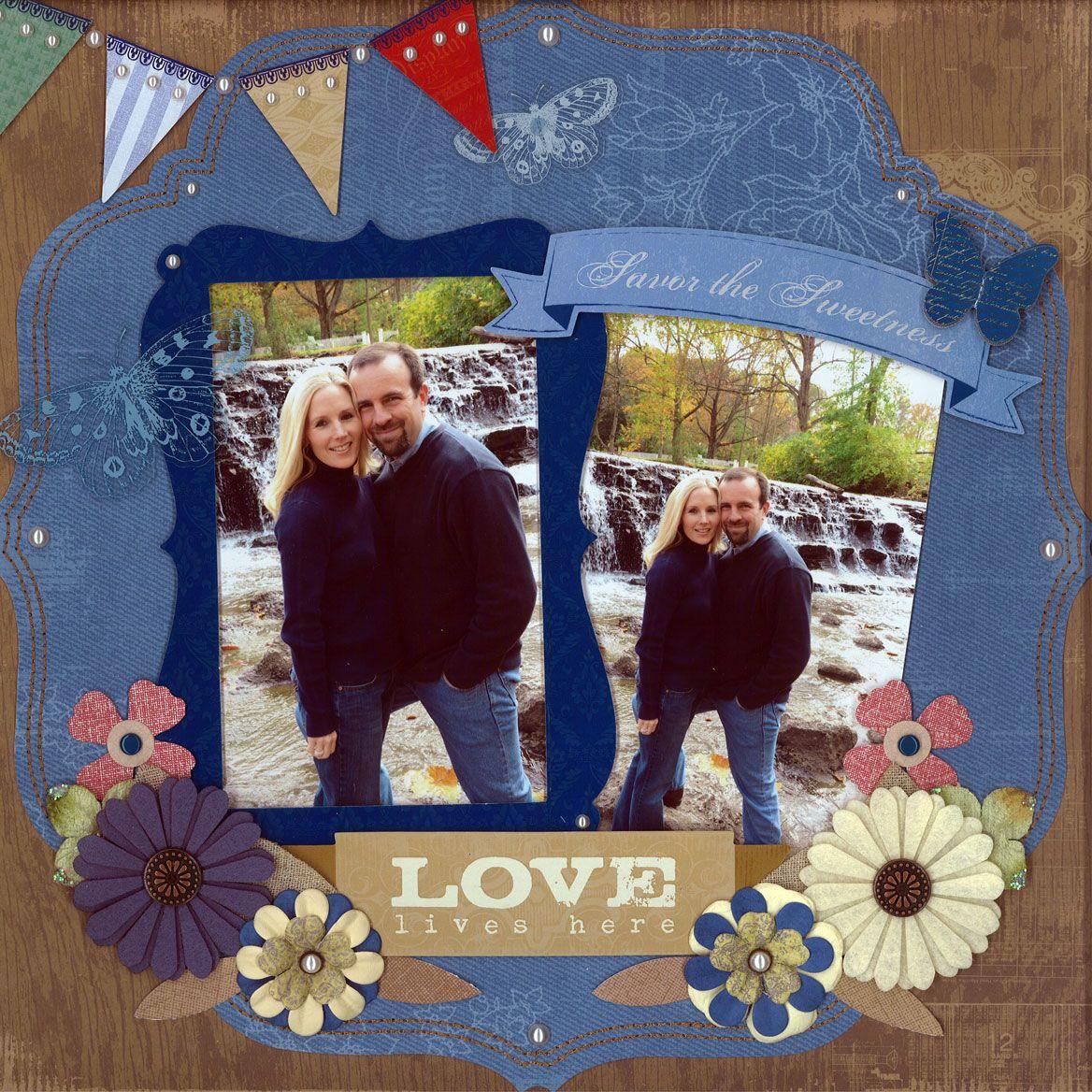 Love Lives Here - Scrapbook.com