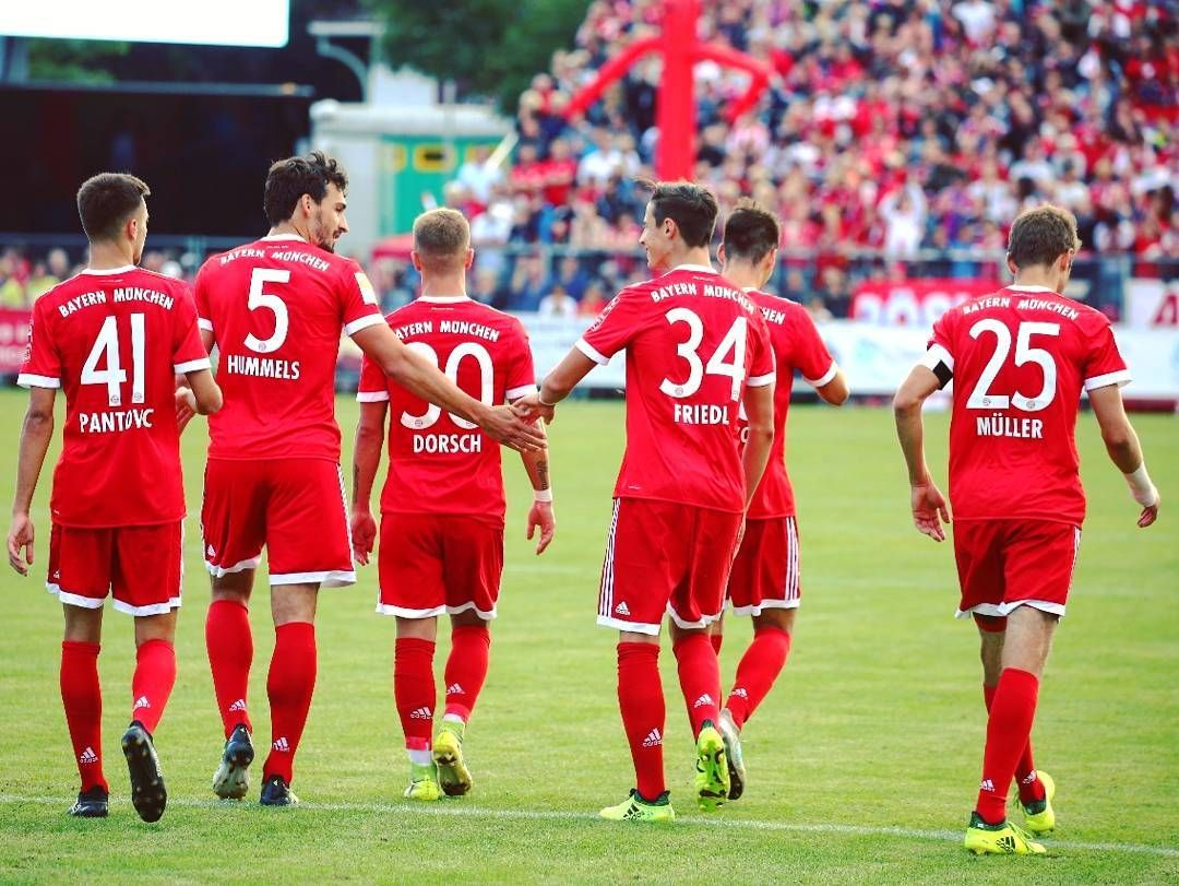 Dream Game Traumspiel Squadgoals Miasanmia Fcbayern With Images Bayern