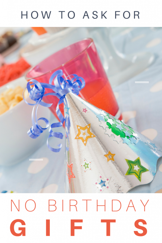 No Gifts Please Should Your Child Have a Gift free Birthday