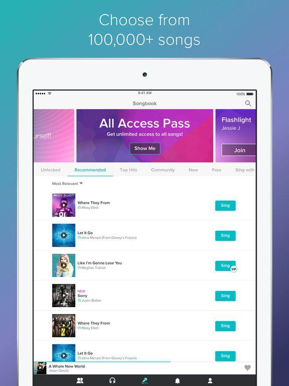 Sing! Karaoke by Smule on the App Store | Playlist funny