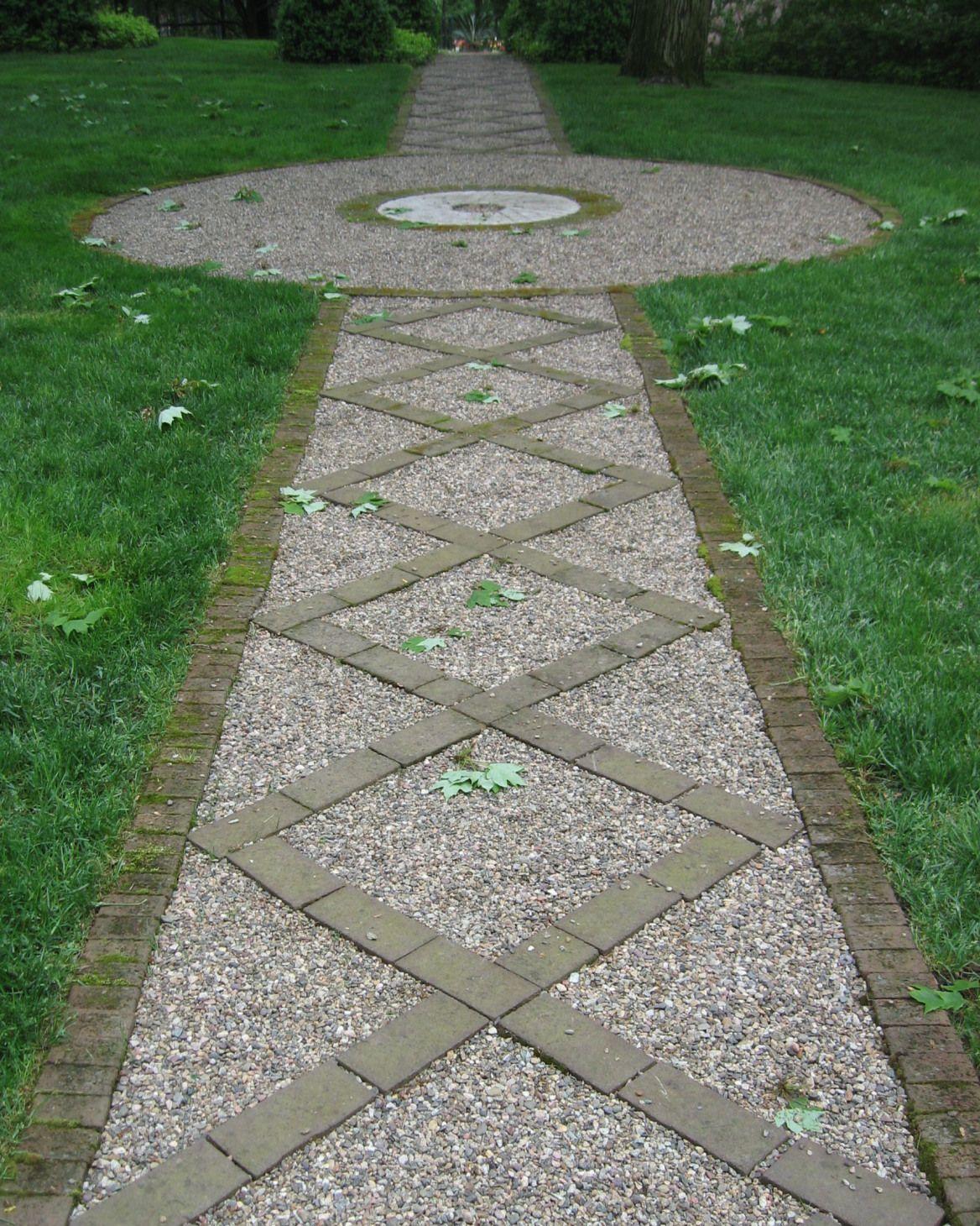 Monday Morning Finds Re Use Old Bricks Backyard Pinterest