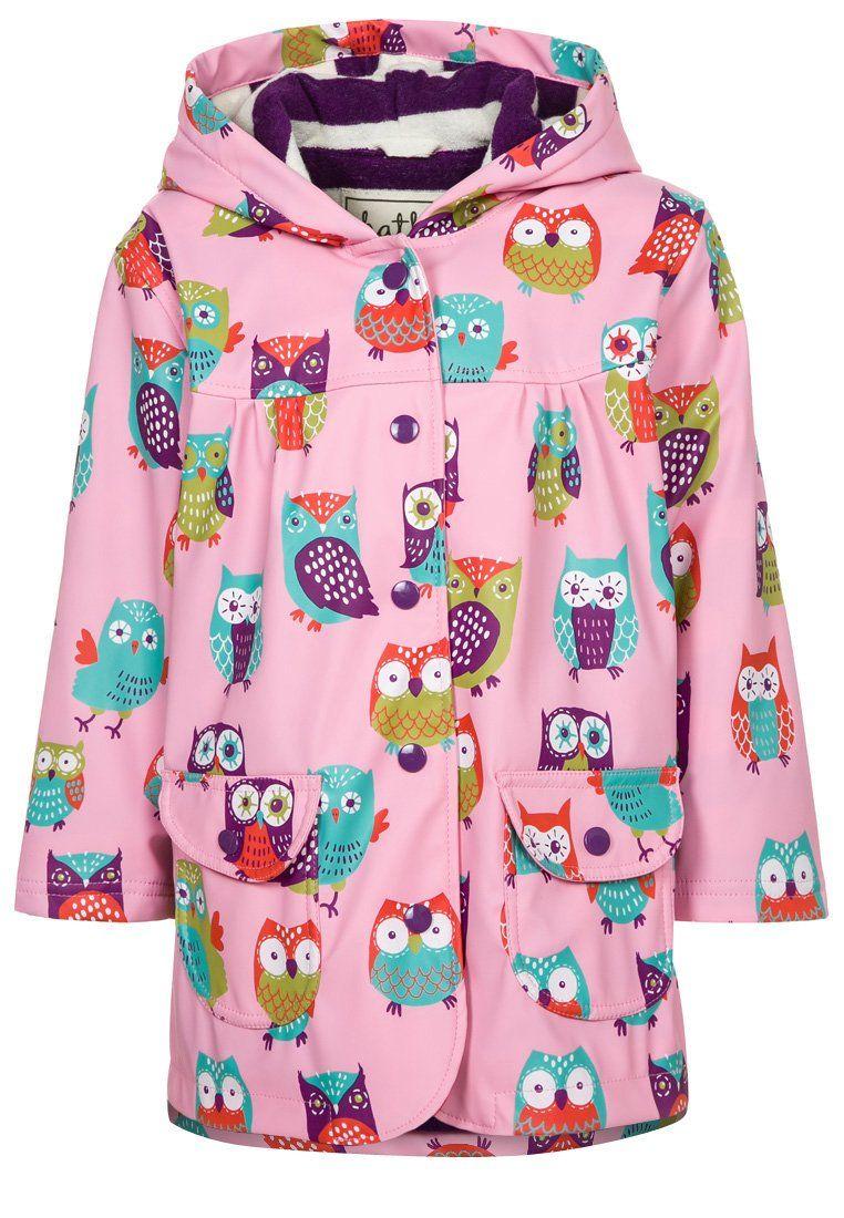 f8ab3f210e7aa0 Hatley - Regenjacke   wasserabweisende Jacke - rosa multicolor Mode Online  Kaufen