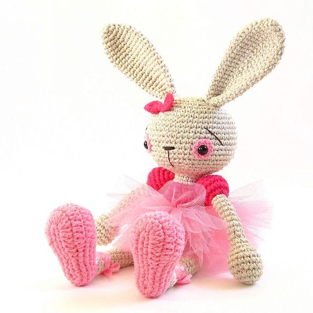Ravelry: Ballerina Bunny pattern by Kristi Tullus | Diy | Pinterest ...