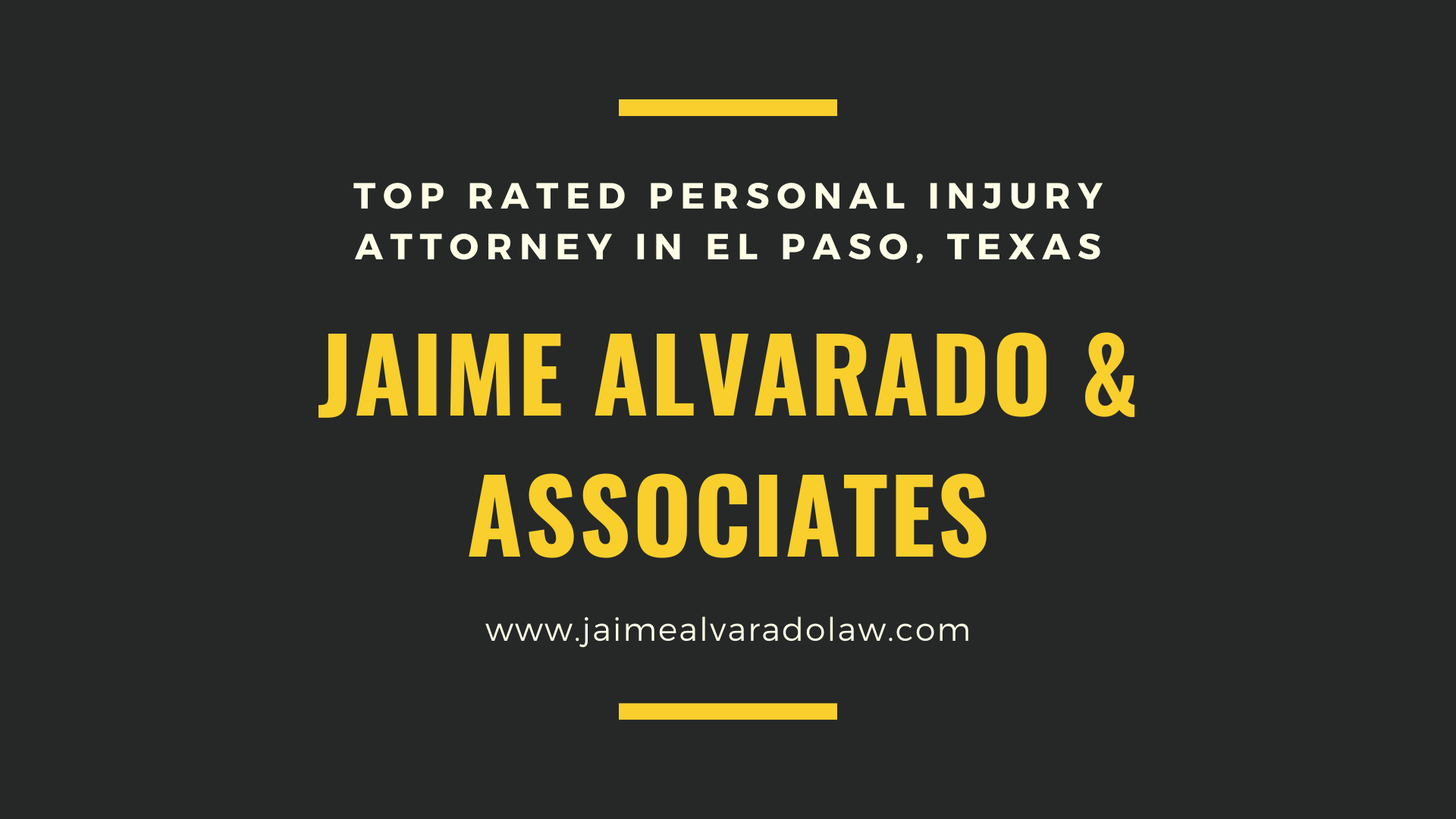 El Paso Personal Injury Attorney Personal Injury Lawyer