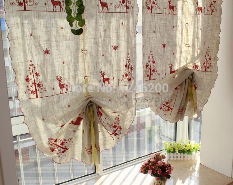 cortinas de natal para cozinha - Pesquisa Google