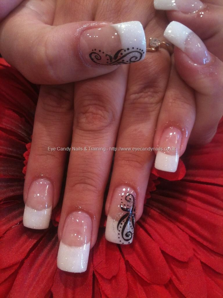 Nail art style signature of a fashion diva french nails eye nail art style signature of a fashion diva prinsesfo Gallery