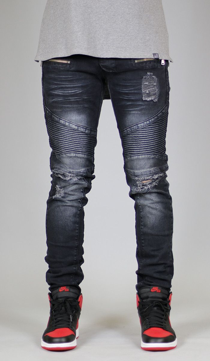 these are biker jeans, they have the biker padding on the