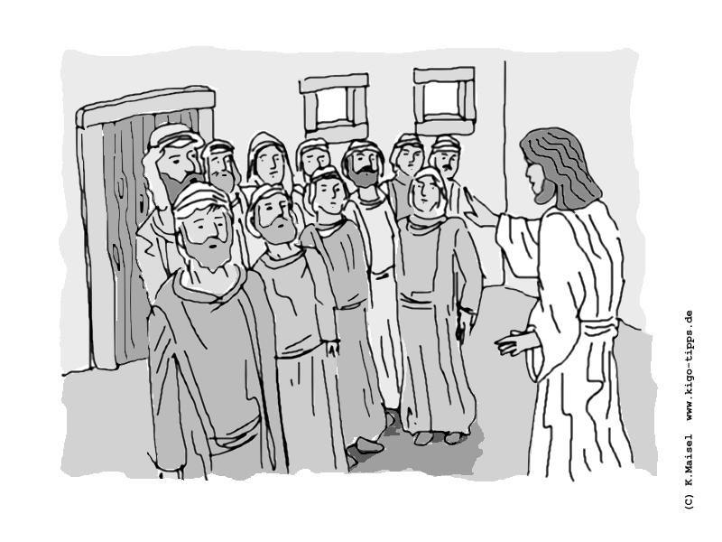 Der Ungläubige Thomas Kindergottesdienst