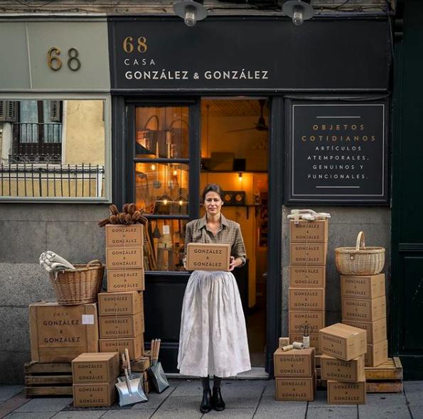 Casa Gonzalez Gonzalez Madrid Cafe Shop Design Coffee Shop Design Small Shop Design