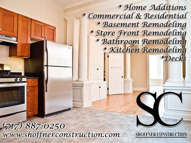 Shoffner Construction, Located In York PA, Specializes In All Types Of  Residential And Commercial · Home AdditionsBasement RemodelingYork ...