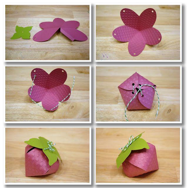Bits of Paper: Straw-ba-ba-be-berries!