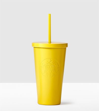 f537495381a Yellow Stainless Steel Cold Cup | Popular styles in 2019 | Starbucks ...