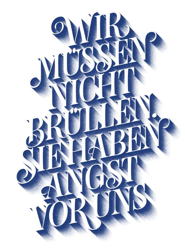 11 Freunde Cover – Lettering | Schrift