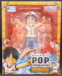 メガハウス POP CB-R1/ワンピース ルフィ(子ども) PVC