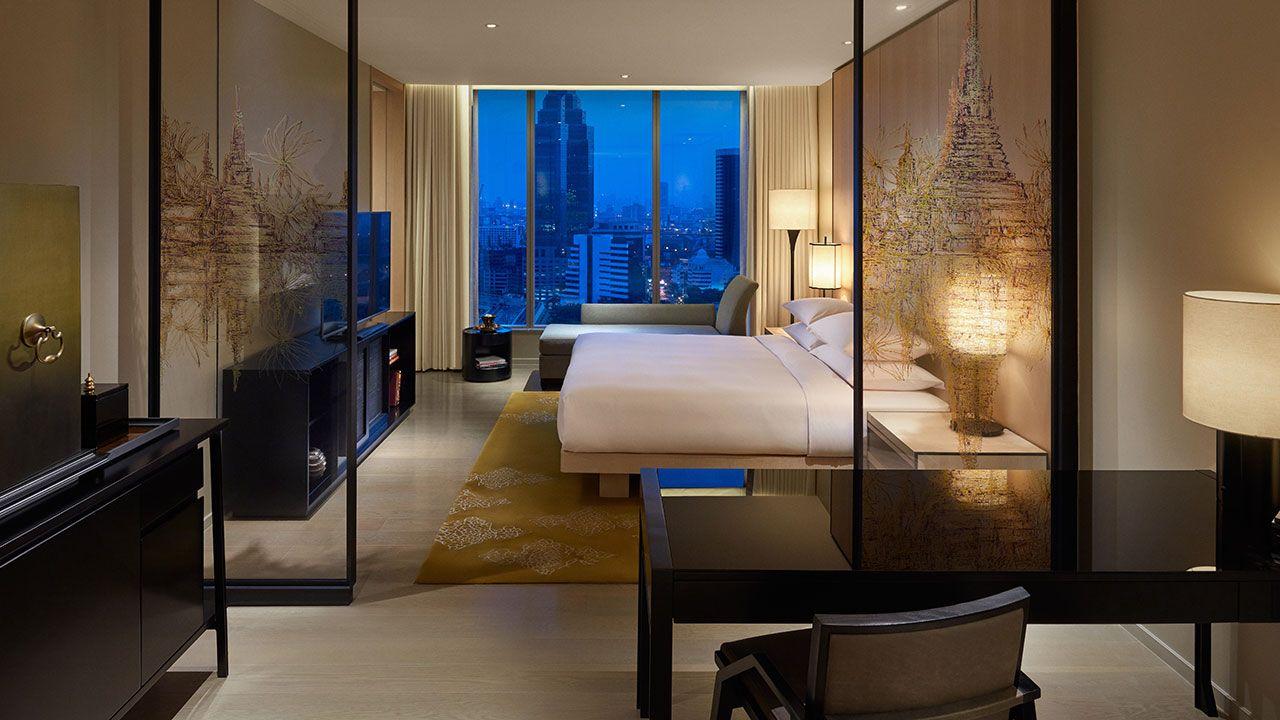 Park King Room Park Hyatt Bangkok 5 Star Hotel In Bangkok Thailand Hotel Room Hotel Room Design Hotel Bedroom Design