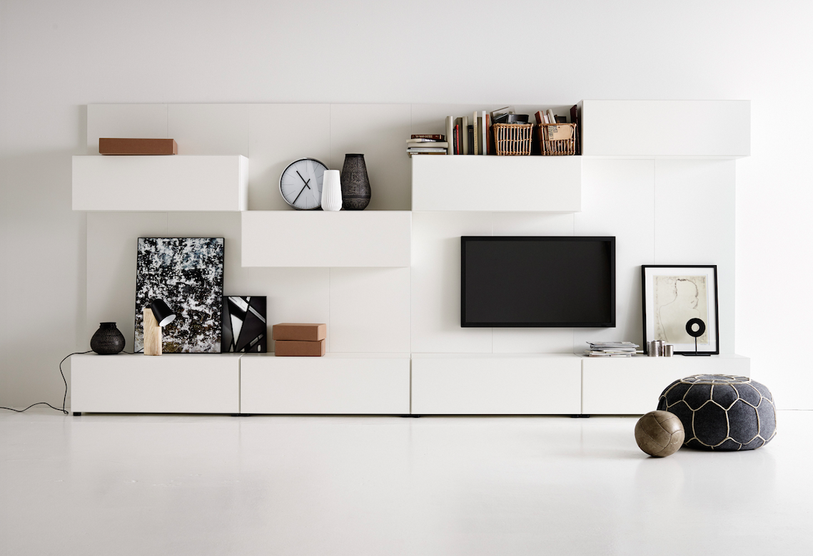 Lugano Wall System 10 690 Tv Wall Pinterest Lugano Walls  # Ensemble Meuble Tv Led