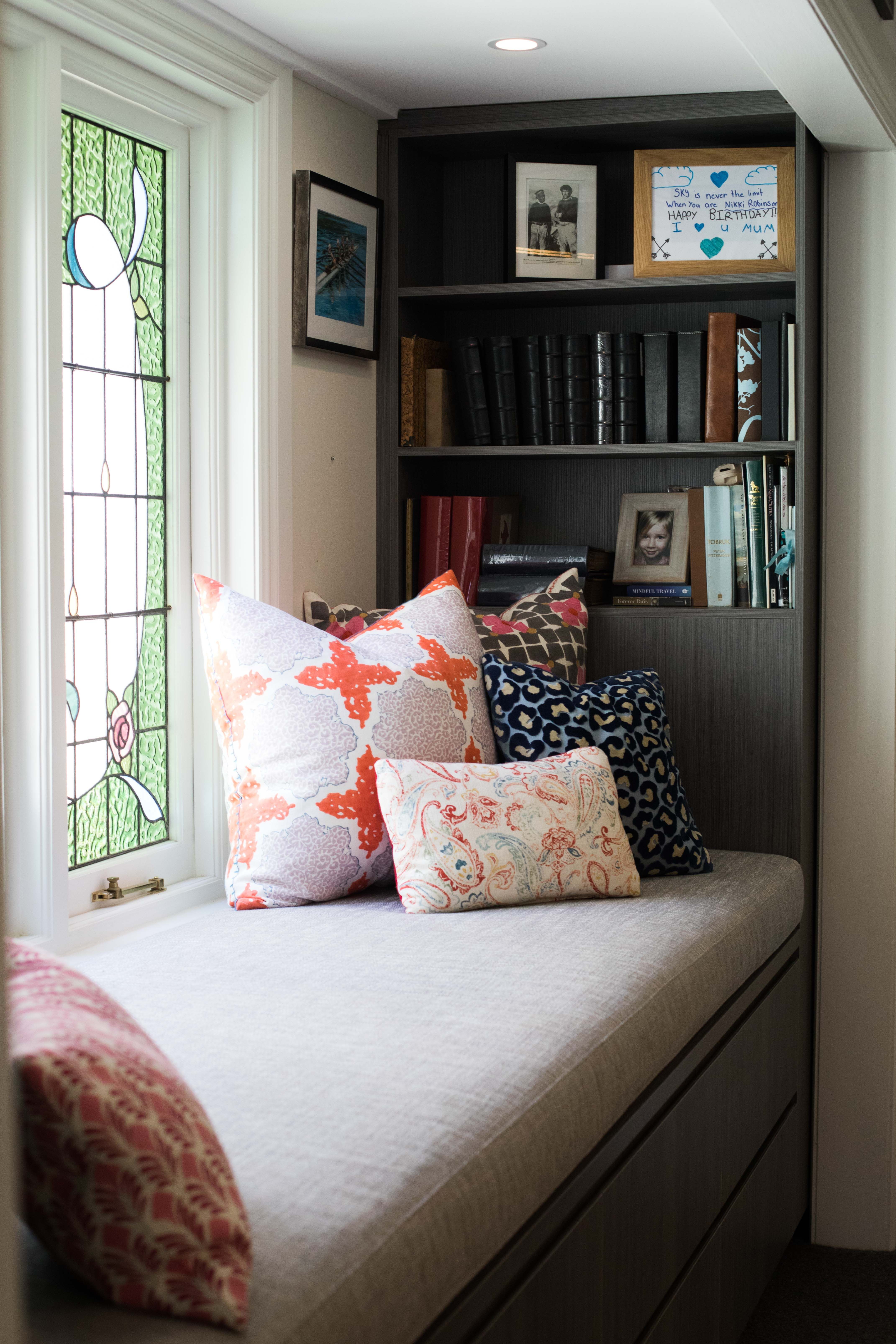 Loving The Natural Light Spilling Into This Cozy Corner