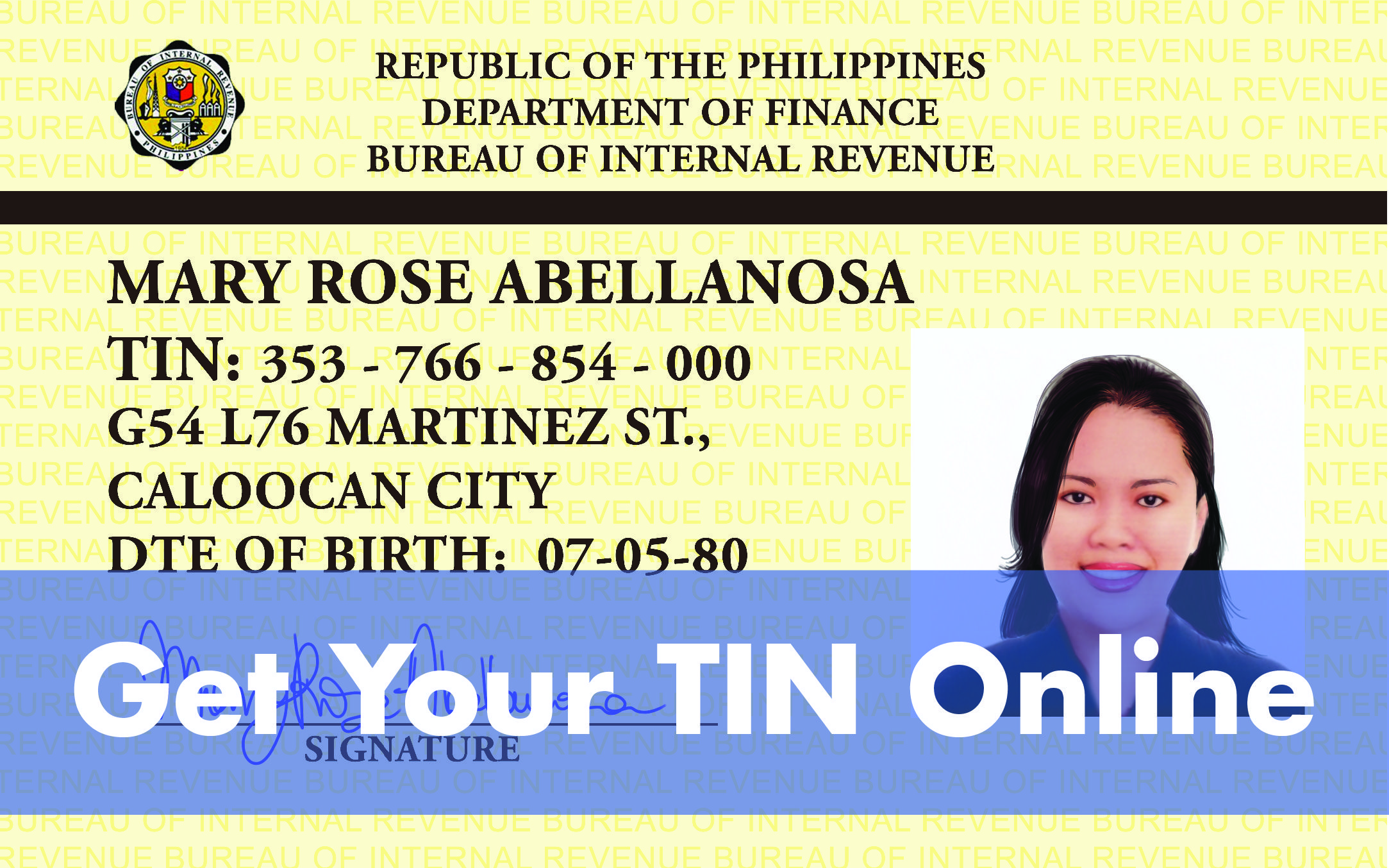 How To Get A Tin Online Getting Tax Identification Number From The Bir In 2021 Tin Number Online Online Signature