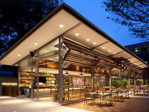 Cafe Exterior Google Search Café Restaurante Exterior
