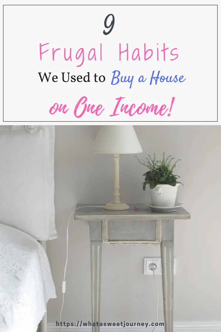 We never thought it would be possible! But here we are, buying a house 🏠 on ONE modest income. Read our post on the habits we developed in order to get our new custom house.🎉#newhome #oneincome #oneincomefamily #frugality #frugal #frugalliving #moneywise #savemoney