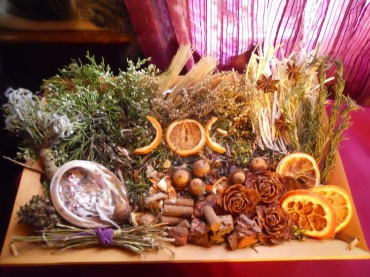 a mabon offering fire starters and more willow poppets