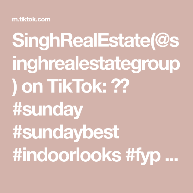 SinghRealEstate(@singhrealestategroup) on TikTok: 🏡🔥 #sunday #sundaybest #indoorlooks #fyp #minivlog #texas #dallas #realtor #goals #newhome #stay #inyourface #realestate #age #punjabi #tiktokindia