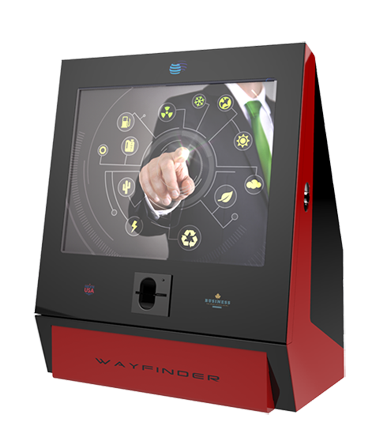The Comet Desktop kiosk is deal for use in hote/employee check-in applications, car rental applications, retail situations, order entry, or POS applications