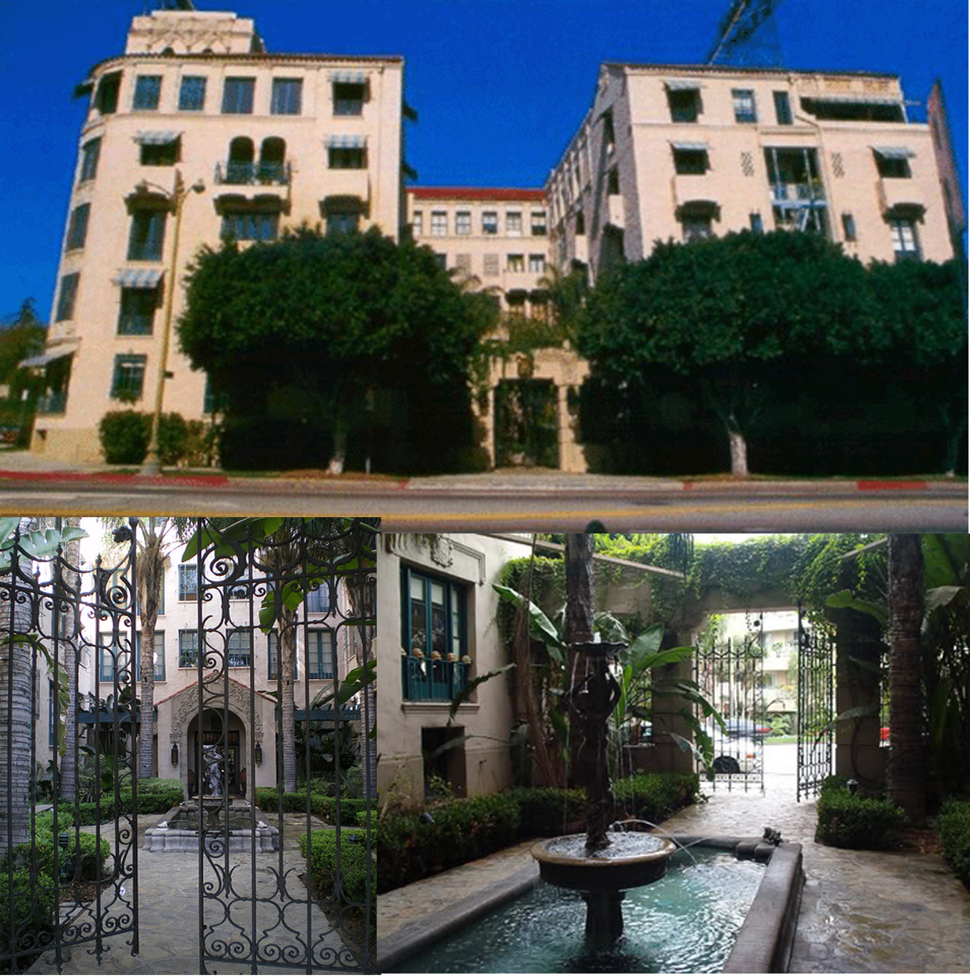Hyperion Hotel from TV Series Angel In reality the Los Altos Hotel