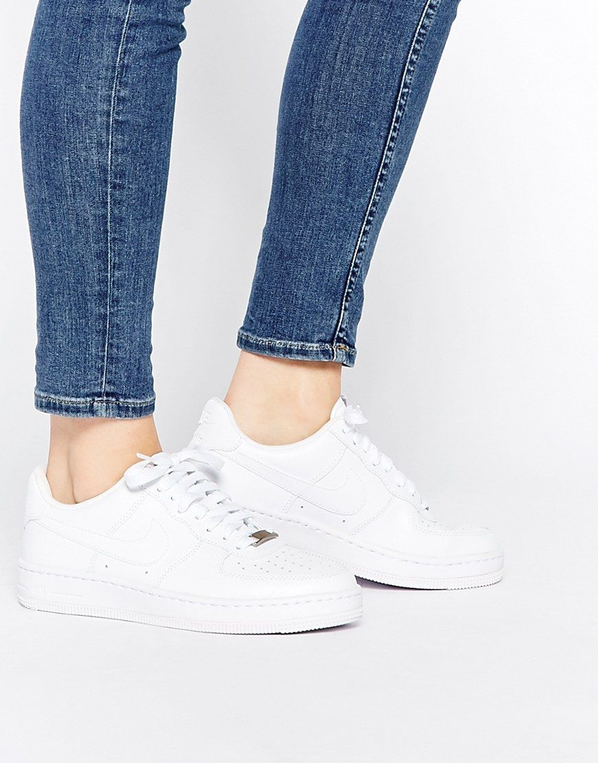Buy Women Shoes / Nike Air Af1 Ultra Force Ess White Trainers