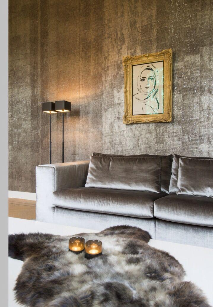 Luxe woonkamers | Verftinten en behangpapier | Pinterest - Luxe ...