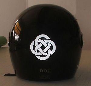 CELTICKNOTTribalREFLECTIVEStickerforMotorcycleHelmetTank - Custom reflective helmet decals motorcycle